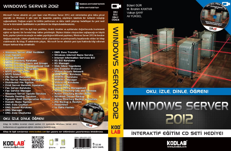 Windows Server 2012 Kitabımız