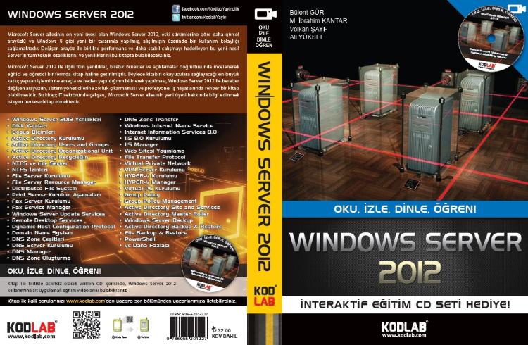 Windows Server 2012 Kitabımız
